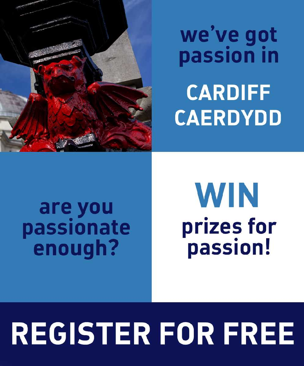 Win prizes for sharing your Cardiff passions!