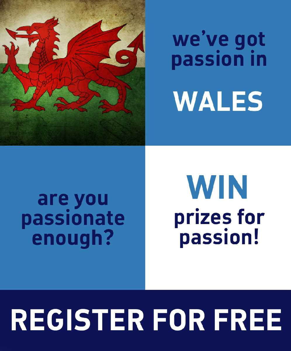 Win points for sharing welsh passion!